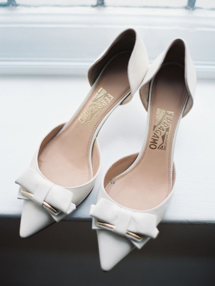 Salvatore Ferragamo #wedding shoes