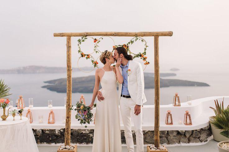Three Jaw Dropping Indoor Banff Wedding Ceremonies: 80 Best Wedding In Santorini