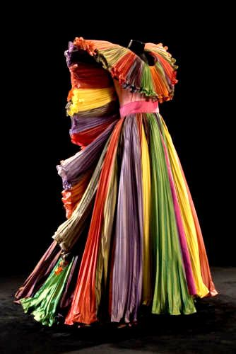Roberto Capucci Wouldn't wear it but love the colors and structure.... A work of art! jaglady