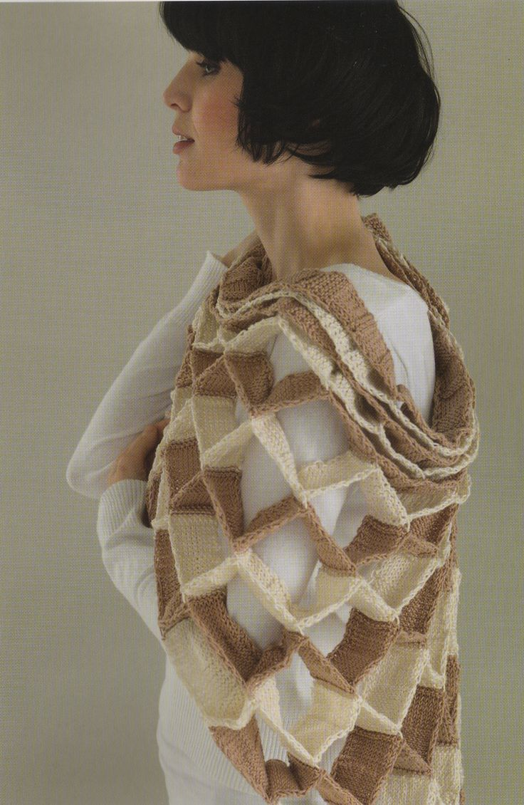 Holy awesomeness!! Ravelry: Waffle Wrap by Deborah Theasby