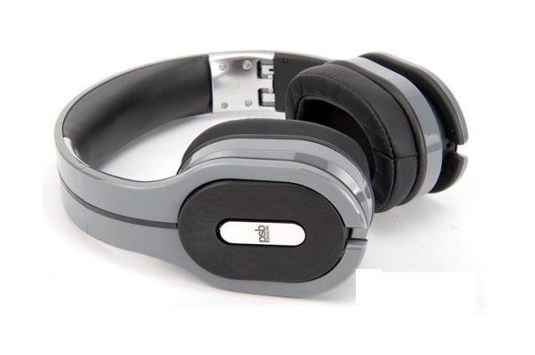 PSB M4U1 Headphones Audio Hi-Fi Stereo Fold-band Baltic Grey- Fast Free Shipping