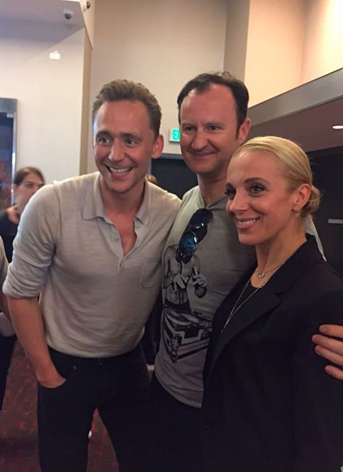 Tom Hiddleston and Mark Gatiss at SDCC 2016. Source: https://twitter.com/Markgatiss/status/757392467398320128