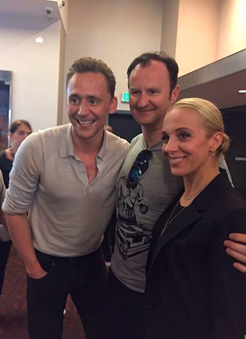 Tom Hiddleston and Mark Gatiss at SDCC 2016. Source: https://twitter.com/Markgatiss/status/757392467398320128