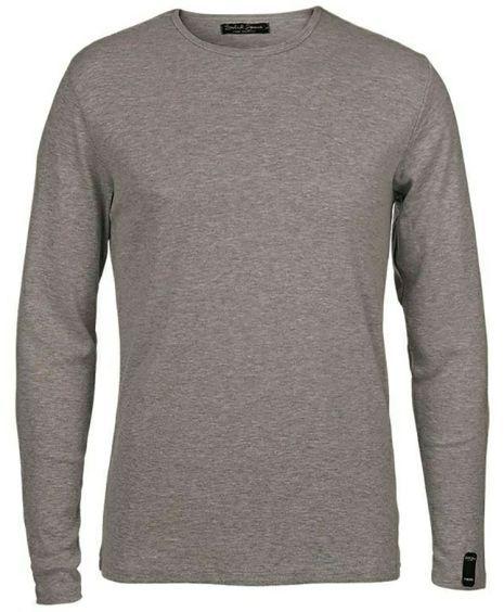 Solid langarmet T-shirt | Sportmann.no