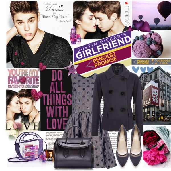 """""""Give Me a Chance with Justin Bieber's Girlfriend Fragrance!"""" by designsbytraci ❤ liked on Polyvore"""