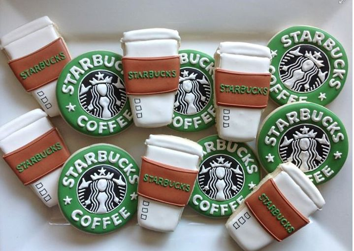 Starbucks Cookies (Nat Sweets) - For all your cake decorating supplies, please visit craftcompany.co.uk