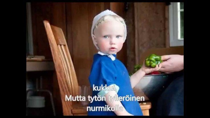 Pieni tytön tylleröinen (Suomen lastenlauluja - Finnish children's songs)