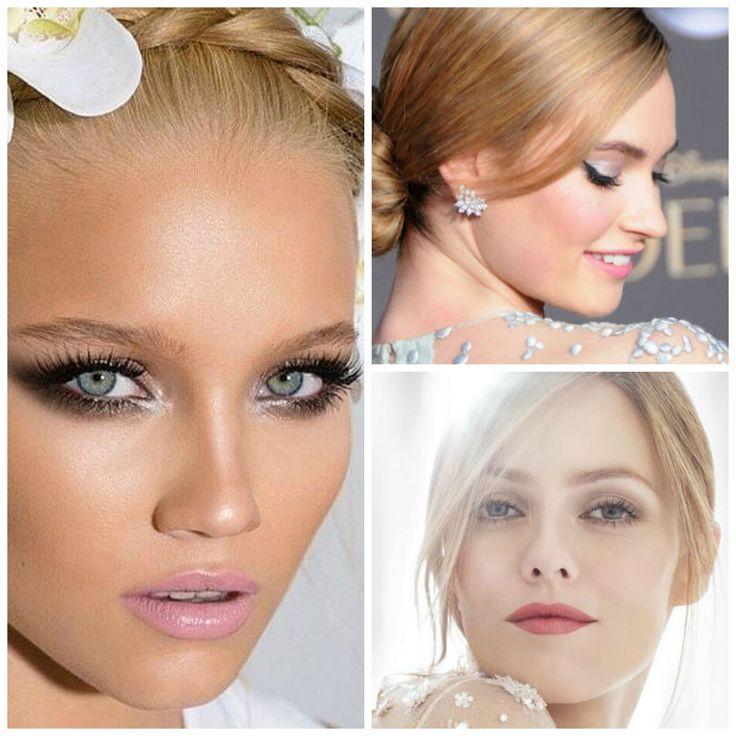 Autumn #wedding #makeup trends 2015  www.homebeaute.gr
