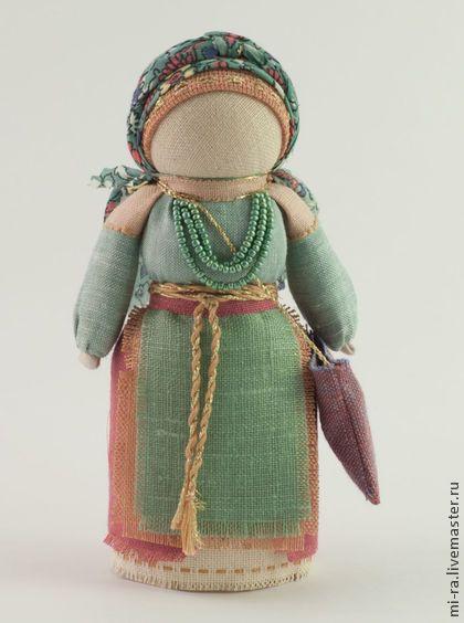 Успешница - мятный,успех,успешница,народная кукла,оберег,достаток,благополучие