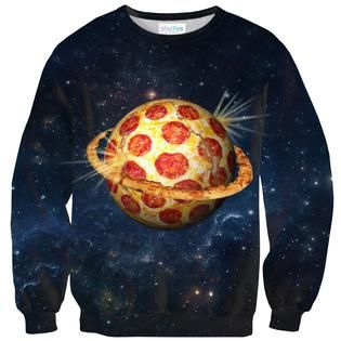 Planet Pizza Sweater