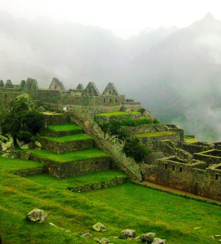 """the fog gives it a special mystery"" Photo by Atenas Román  Machu PicchuWorkmachu Picchu"