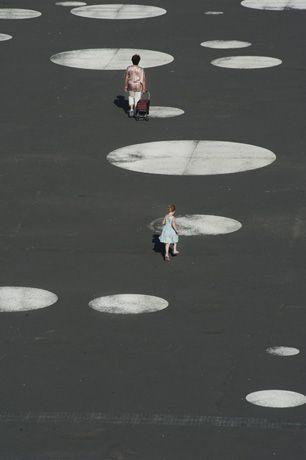 public square in vsetín, czech republic, by moba