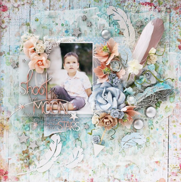 Scrapbooking with Lindy's | Lindy's Stamp Gang