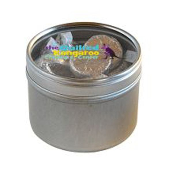 Small Round Windows: Our Round Window Tins Serve To Highlight The Candy Of Your