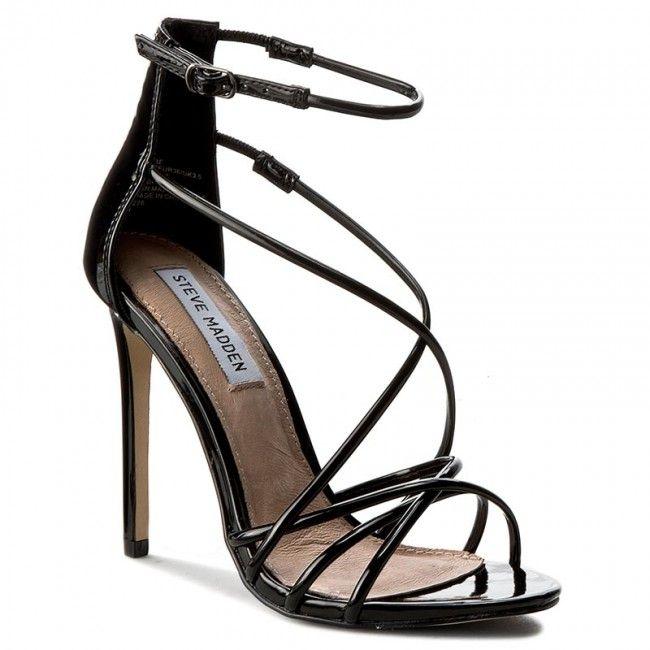 Steve Madden Satire Black Ankle Strap Stilettos cheap sale fast delivery sale sast free shipping professional eB89Fu