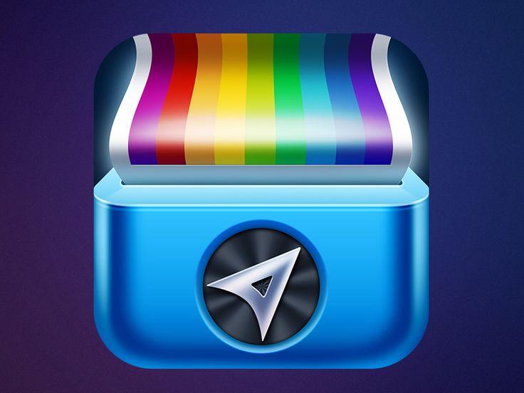 Around app concept icon by Dima Zaborskikh | Gust-Art