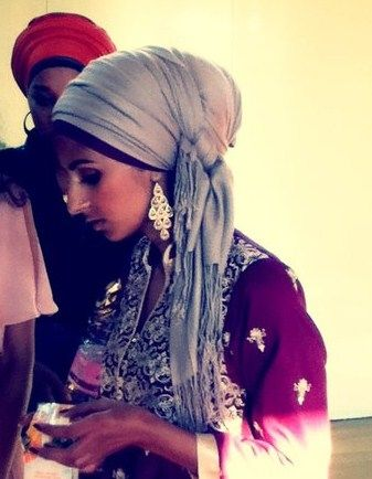 Muslim style wrap, like it!