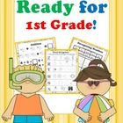 Get Ready for 1st Grade! {Math, Literacy, & Flashcards for Incoming 1st Graders}