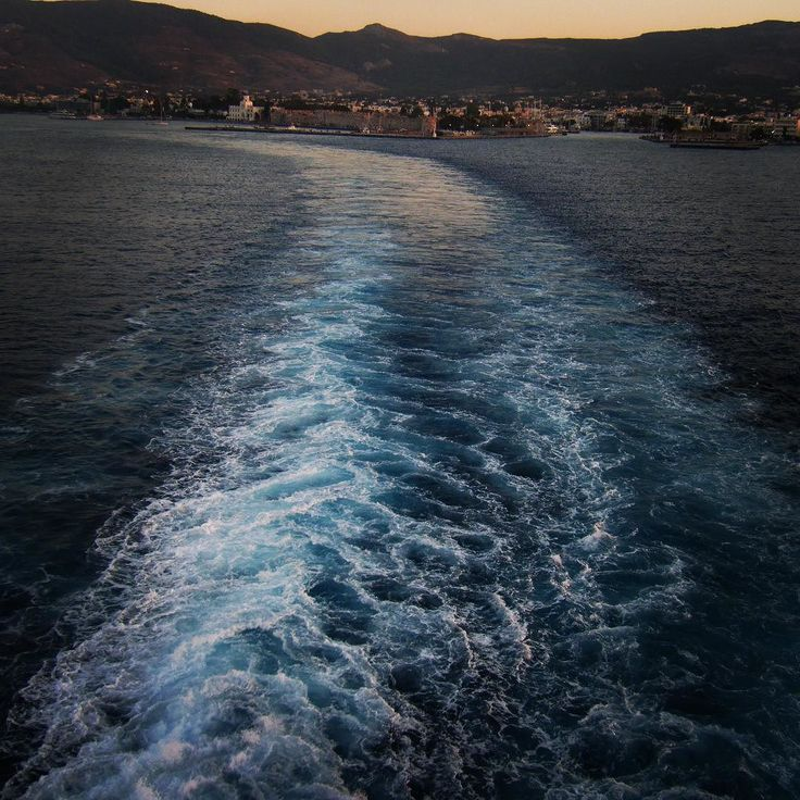 Sliding towards the Greek islands on this road of salty water.. #photography #europe #turkey #greece #aegean #sea #water #ferry #adventure #travel