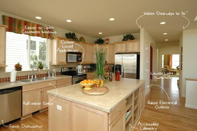 Staying Put 10 Improvements To Get Your House Ready For Your Next Age Kitchen Design Universal Design Home Renovation