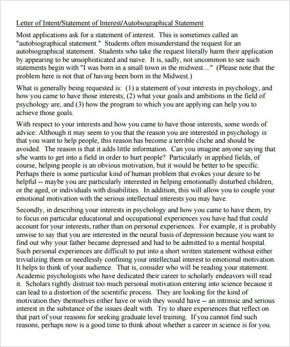 Grad School Letter Of Intent Sample Letter Of Intent School Lettering Lettering