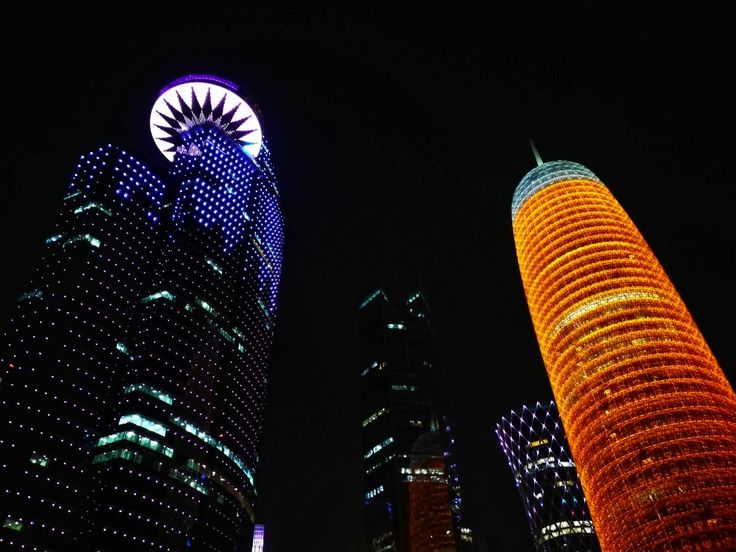 Doha, West Bay  • Tower •