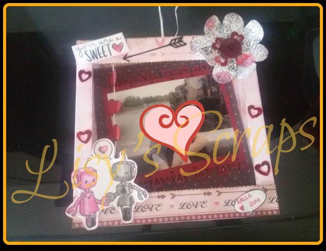 Lisy's Scraps: CORNICE 3D- tema love