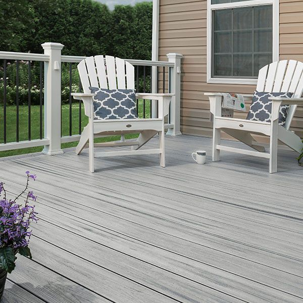 Trex Enhance Naturals Deck Boards With Images Trex Deck Composite Decking Trex Enhance