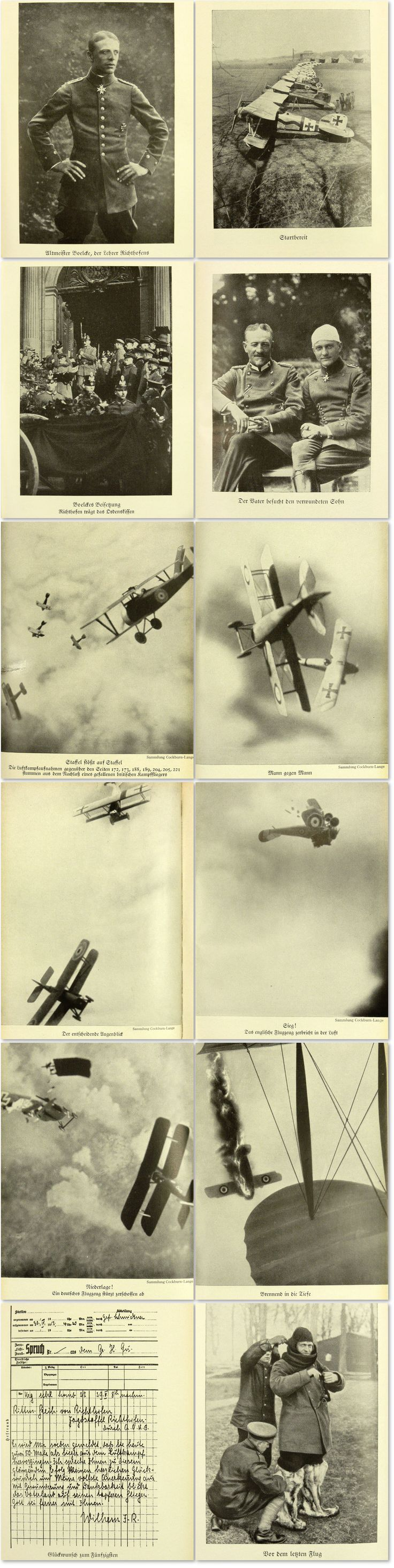 Von Richthofen - The Red Fighter Pilot Rare military aviation book about the famous WWI Fighter Pilot ace Baron Manfred von Richthofen,also known as the 'Red Baron' (Der Rote Baron)...