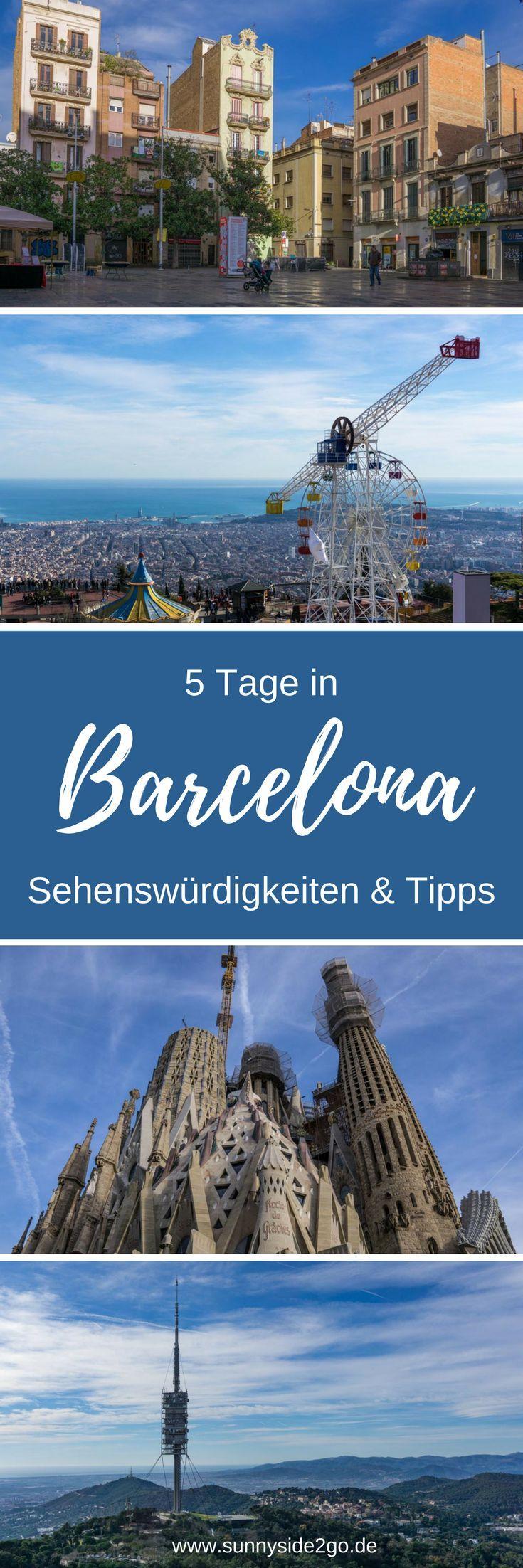 Sehenswürdigkeiten und Tipps für Barcelona