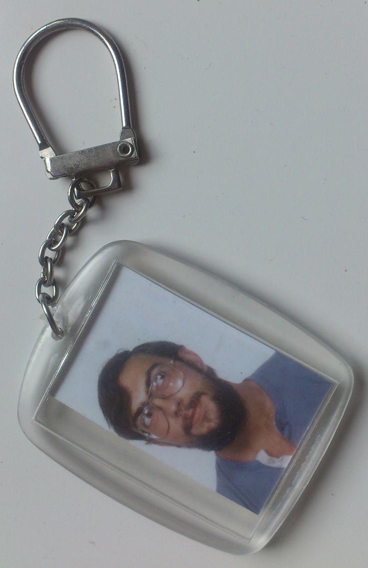 Les porte-clefs avec la photo....:-)