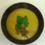 Zupa Krem z soczewicy zielonej