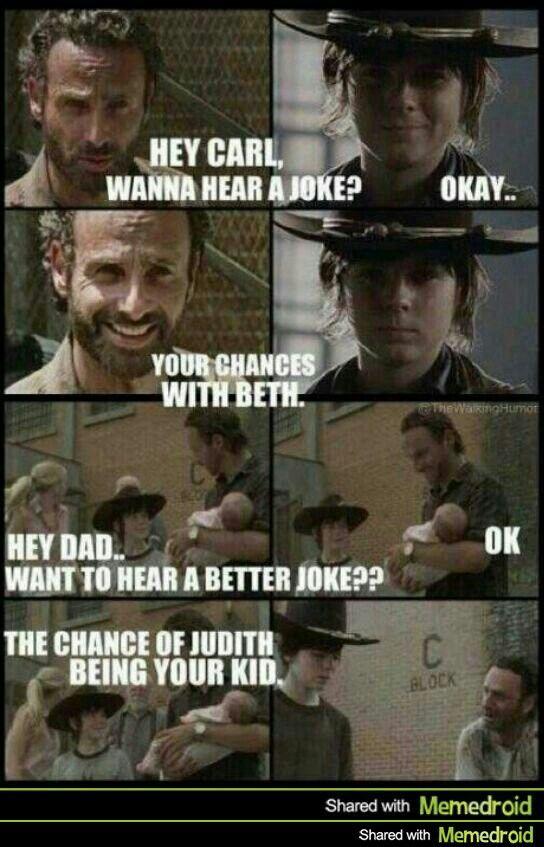 #Walking Dead.  OOOOOOOOHHHHHH burn.