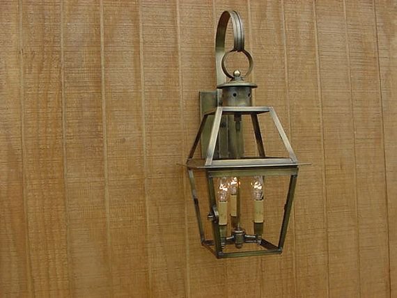 Vanity Light Wood Metal With Punched Tin Lamp Shades: 9 Best Early American Chandeliers Images On Pinterest