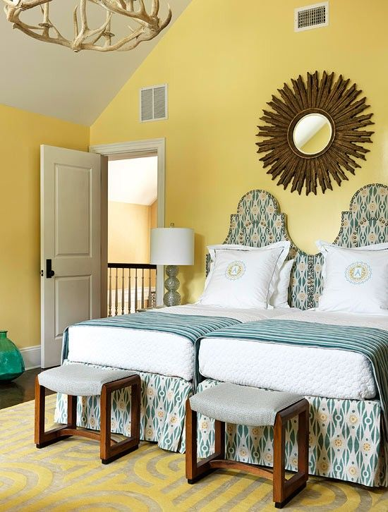 Room Makeover And A Box Bed: 306 Best Images About Bedrooms: Guest Room With Twin Beds