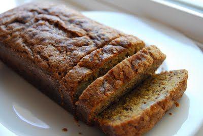 Banana Sour Cream Bread | Breakfast | Pinterest