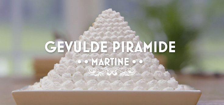 Gevulde piramide - Heel Holland Bakt
