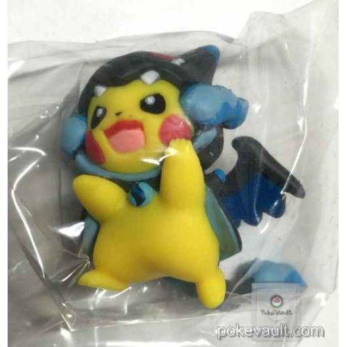 Pokemon Center 2016 Poncho Pikachu Series 1 Mega Charizard X Gashapon Figure Pokemon Figures
