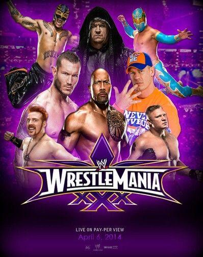 Rey Mysterio Sin Cara Randy Orton John Cena Sheamus Brock Lesnar
