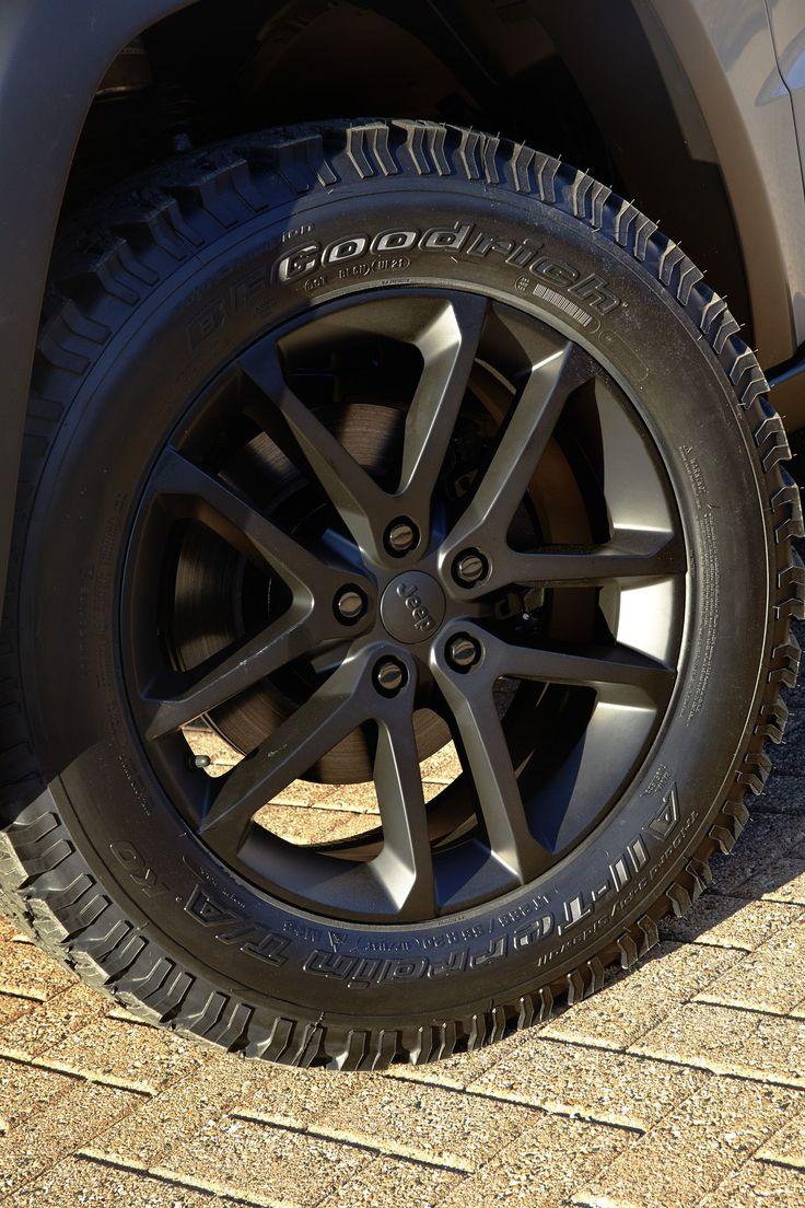 Jeep Grand Cherokee EcoDiesel Trail Warrior Concept Wheels