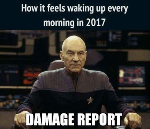 Exactly. Every. Damn. Morning.