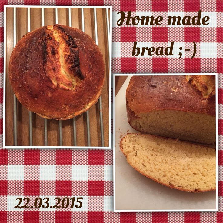 Home made bread. Ideal for Sunday breakfast