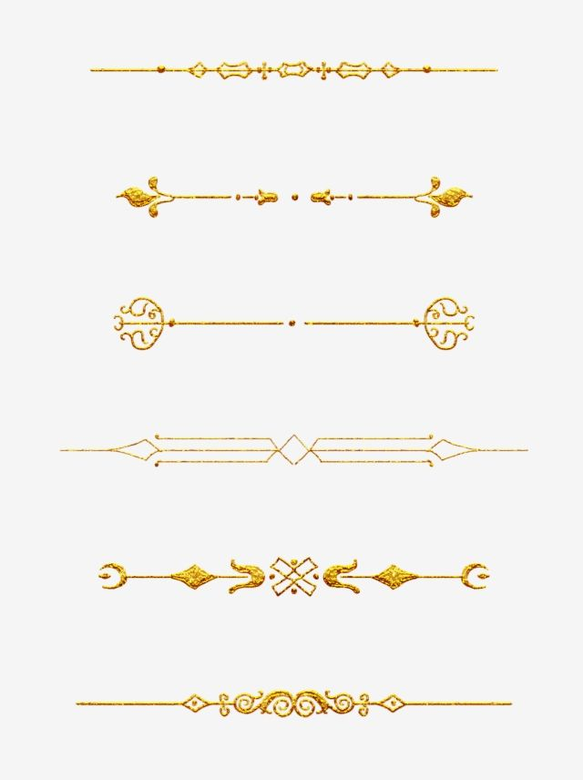 European Border Pattern Dividing Line Commonly Used Retro Commercial Elements Gold Retro Gorgeous Png Transparent Clipart Image And Psd File For Free Downloa Border Pattern Watercolor Pattern Background Photoshop Plugins