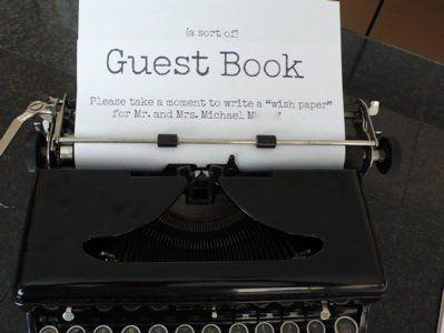 Unique Guestbook Ideas Wedding B138337