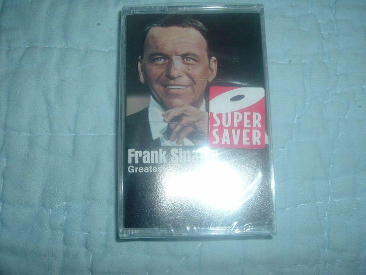Factory sealed Frank Sinatra Greatest Hits Vol.1 Cassette,Frank Sinatra Music…