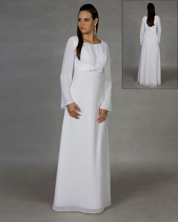 LDS Temple Dress 810013 - Oakley ... totally want this for the Temple sealing