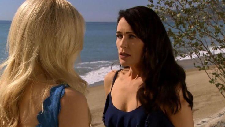 The Bold and the Beautifu. Brooke Logan. Quinn Fuller.