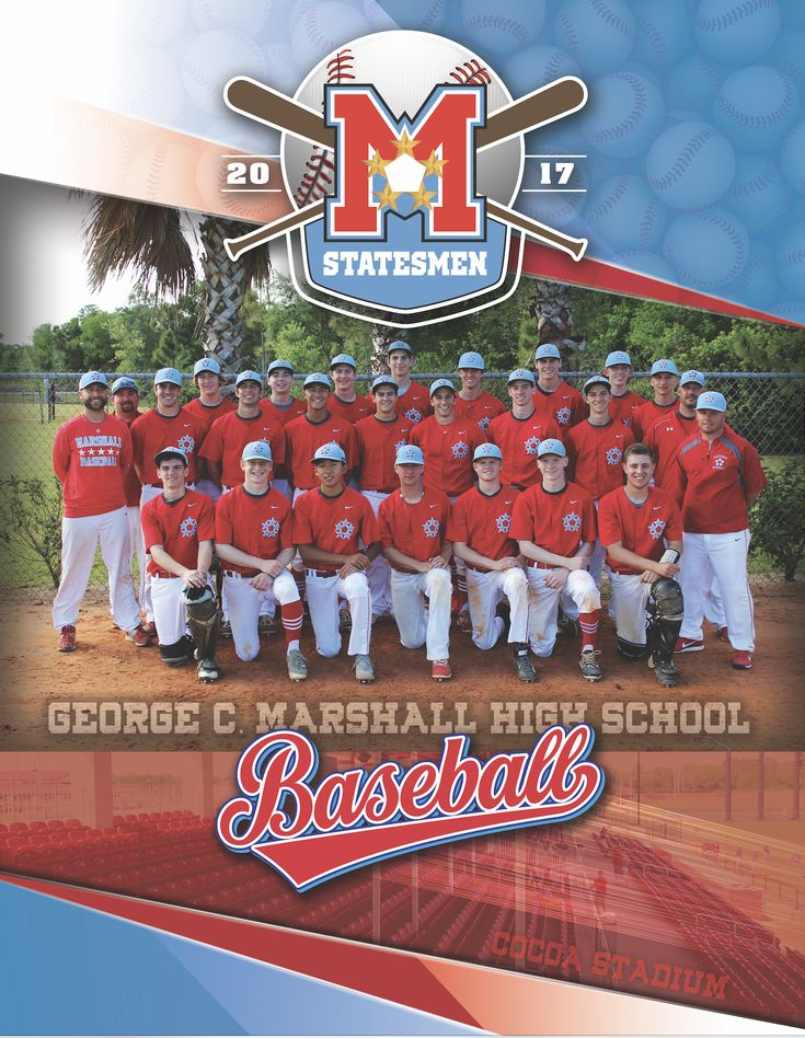 High School Baseball Fundraising Game Day Media Guide