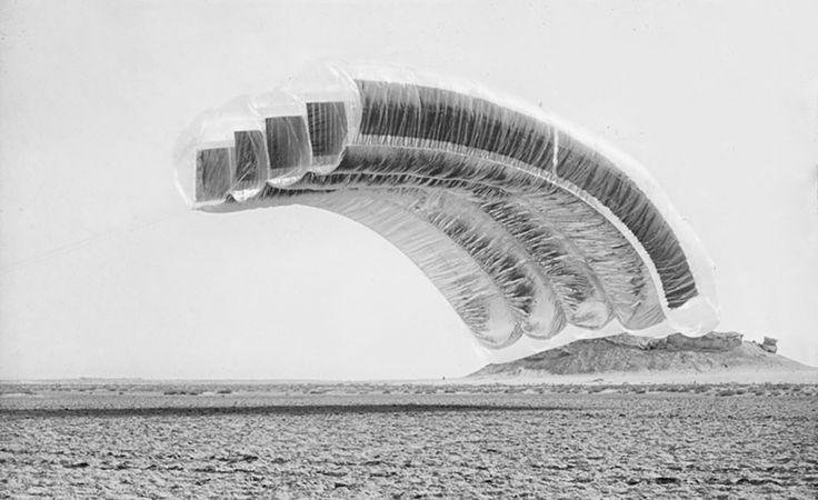 "wmud:  graham stevens - desert cloud"" oslo architectural triennale, 1972"