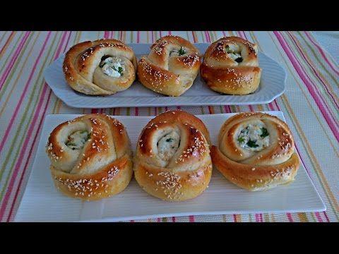 Cheese Fatayer (Fataa'ir Farmaajo) فطائر بالجبنة - YouTube